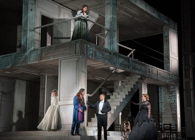 'Don Giobanni' Opera performed at the Royal Opera House, London, UK