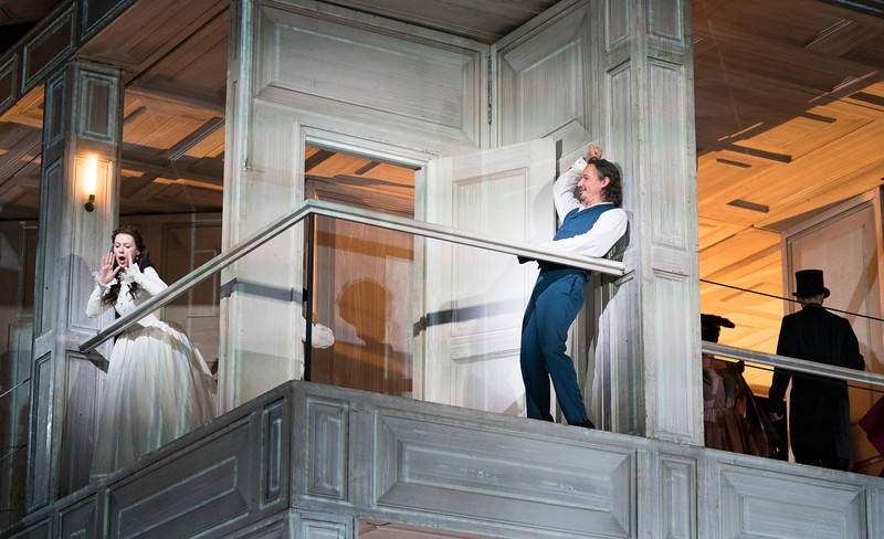 'Don Giobanni' Opera performed at the Royal Opera House, London, UK