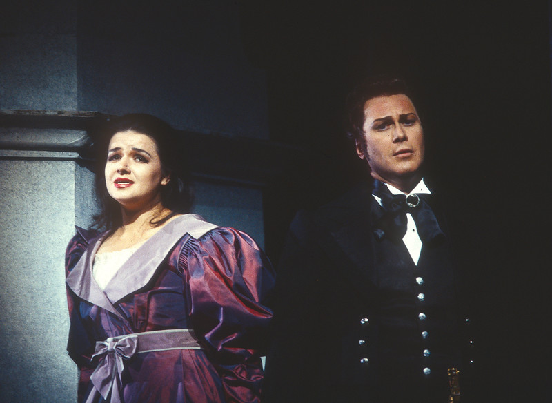 'Eugene Onegin' Opera performed at the Royal Opera House, London, UK 1993