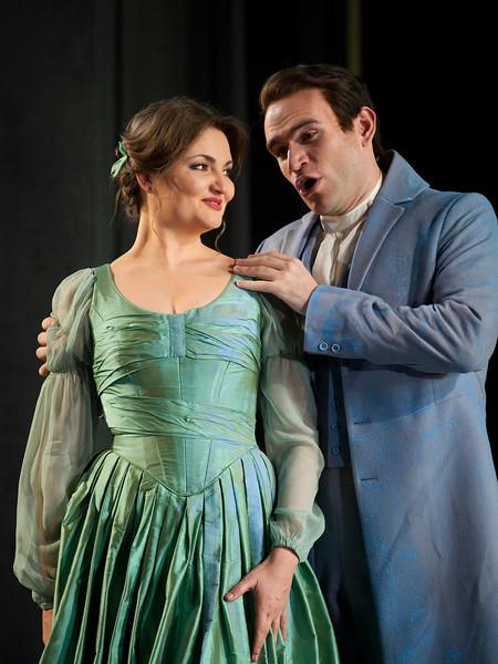 'Eugene Onegin' Opera performed at the Royal Opera House, London, UK