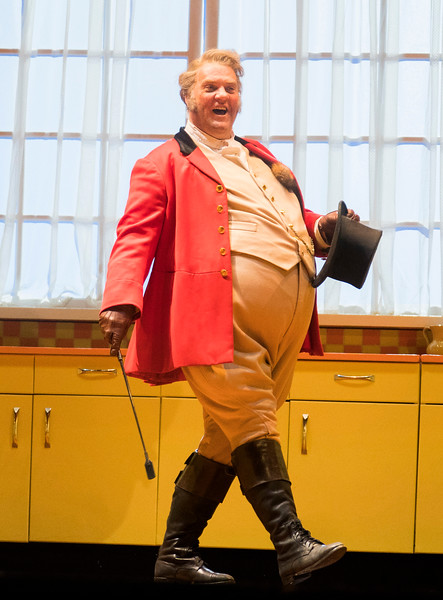 'Falstaff' Opera performed at the Royal Opera House, London, UK