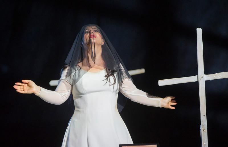 'Il Trovatore' Opera performed at the Royal Opera House, London, UK
