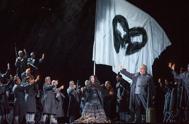 'Il Trovatore' Opera performed at the Royal Opera House, London, UK