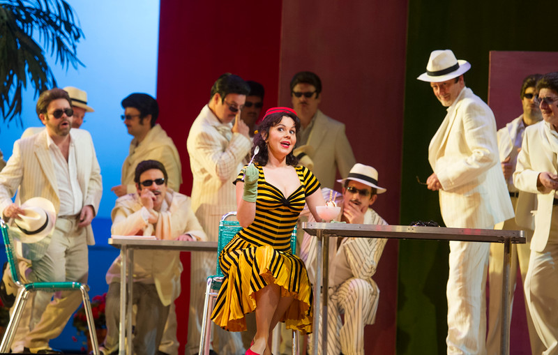 'Il Turco in Italia' Opera performed at the Royal Opera House, London, UK