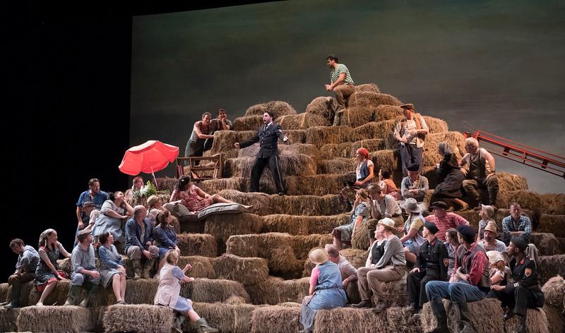 'L'Elisir D'Amore' Opera performed at the Royal Opera House, London, UK