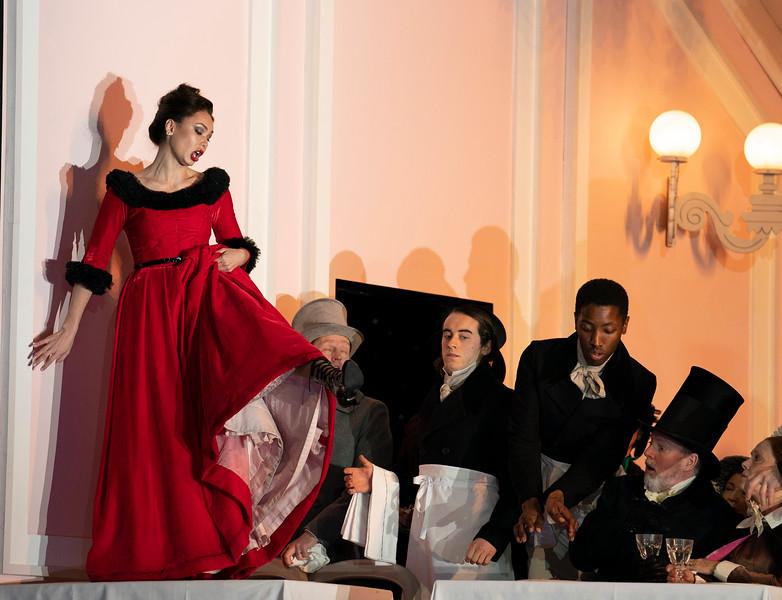 'La Boheme' Opera performed at the Royal Opera House, London, UK