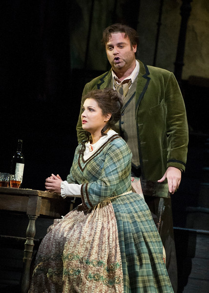 'La Boheme' Opera performed at the Royla Opera House, London, UK