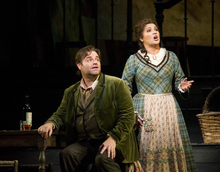 'La Boheme' Opera performed at the Royla Opera House, London, UK