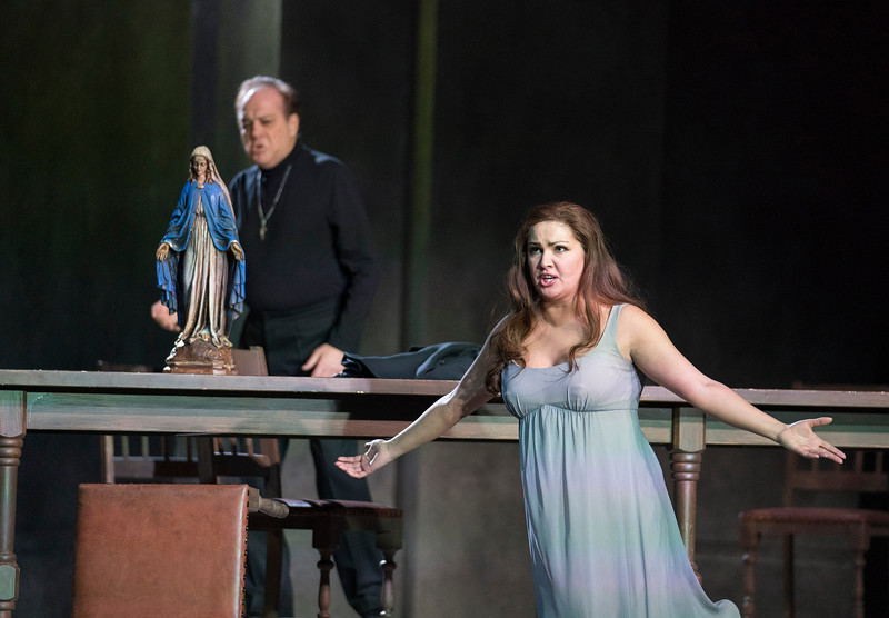 'La Forza del Destino' Opera performed at the Royal Opera House, London, UK