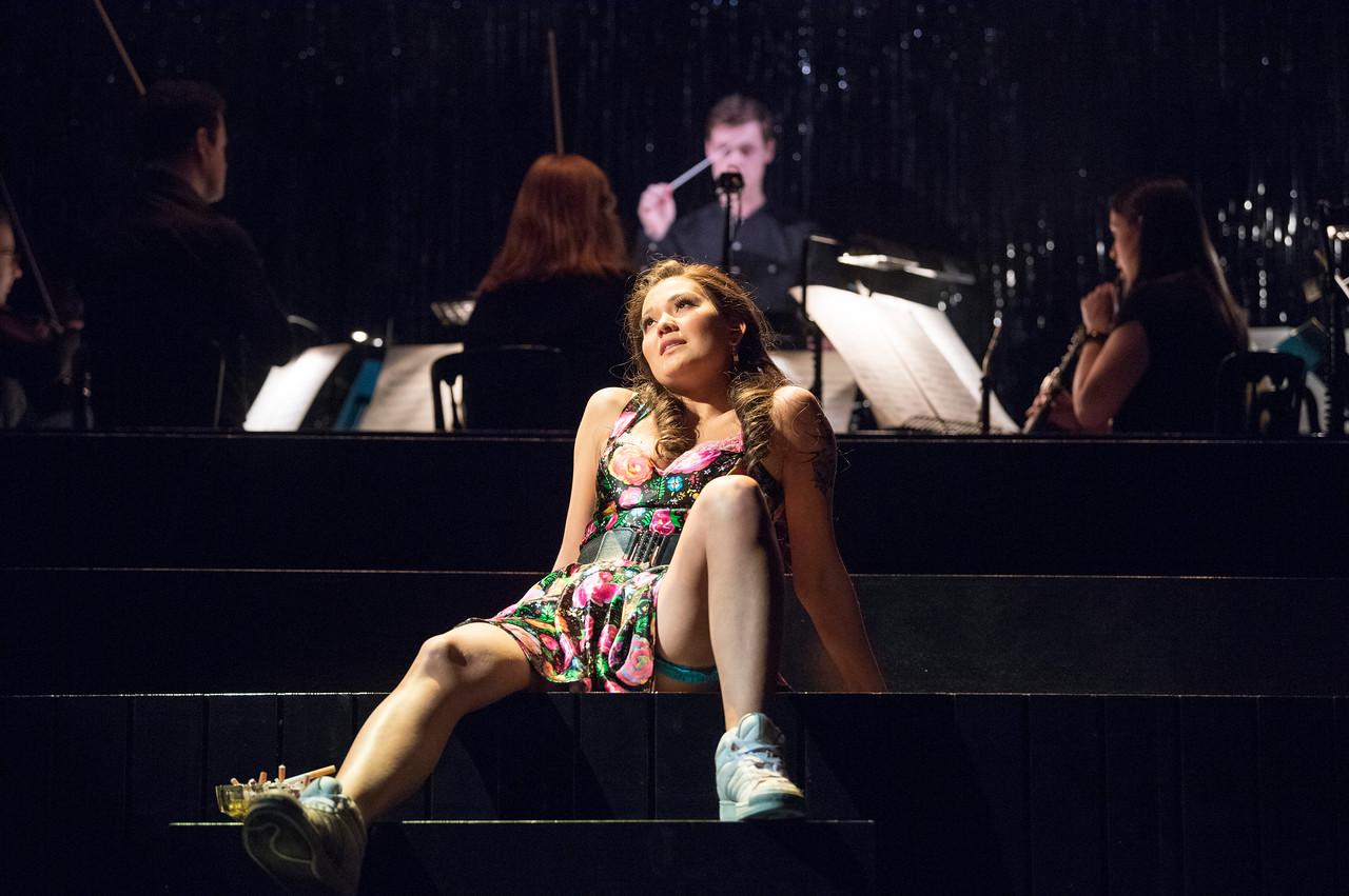 'La Tragedie de Carmen' performed by the Royal Opera Company at Wilton's Music Hall, London, UK