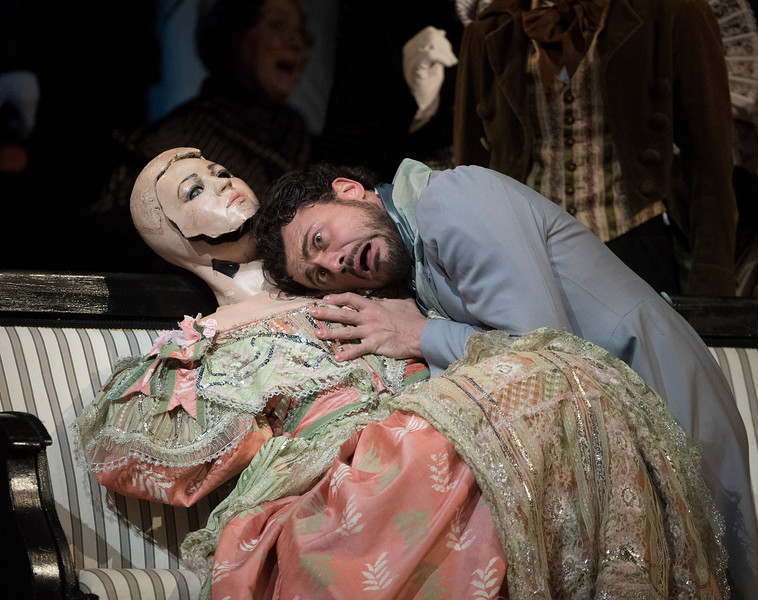 'Les Contes D'Hoffmann' Opera performed at the Royal Opera House, London, UK