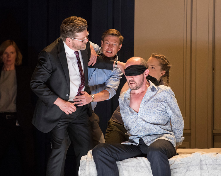 'Lessons in Love and Violence' Opera by George Benjamin performed at the Royal Opera House, London, UK