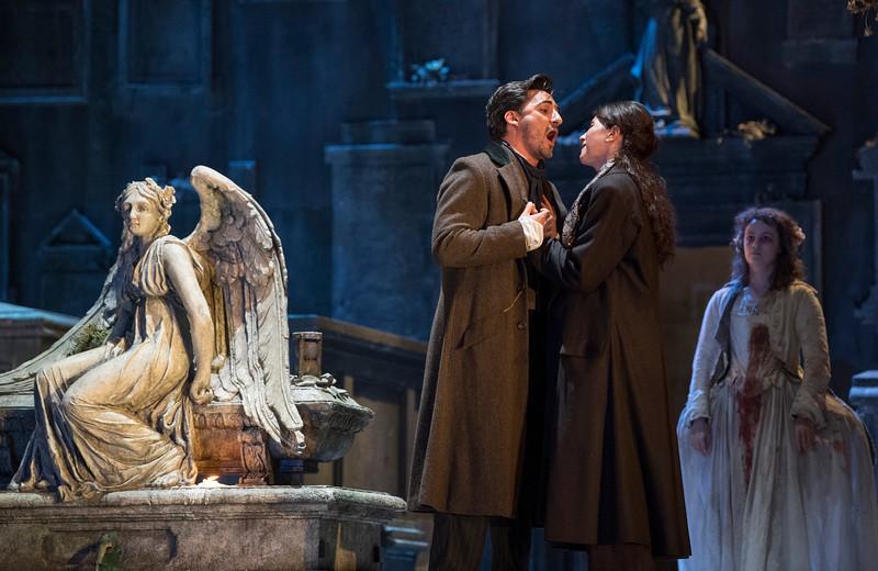 'Lucia di Lammermoor' Opera performed at the Royal Opera House, London, UK