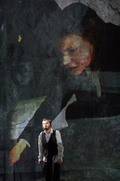 'Mamzer/Bastard' Opera performed by Royal Opera at Hackney Empire, London, UK