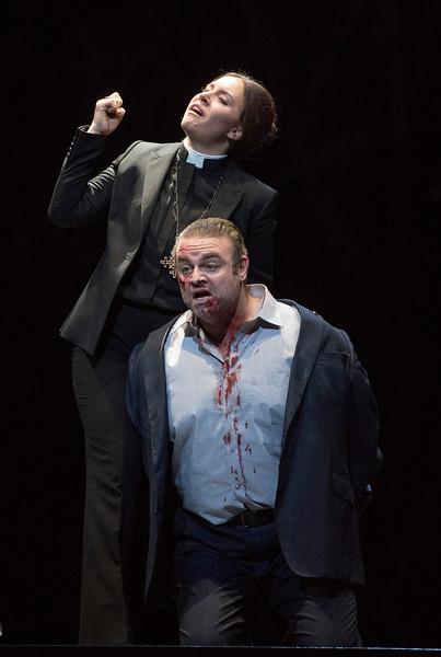 'Norma' Opera performed by The Royal Opera at the Royal Opera House, London, UK