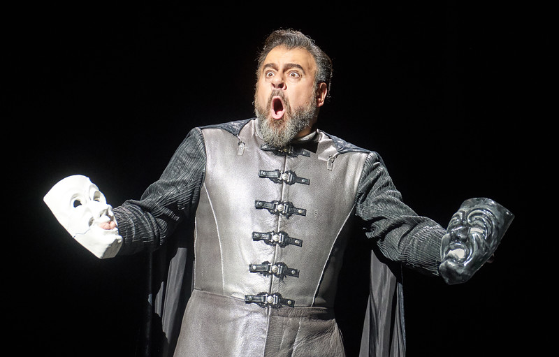 'Otello' Opera performed at the Royal Opera House, London, UK
