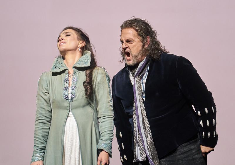 'Otello' Opera performed at the Royal Opera House, London, UK