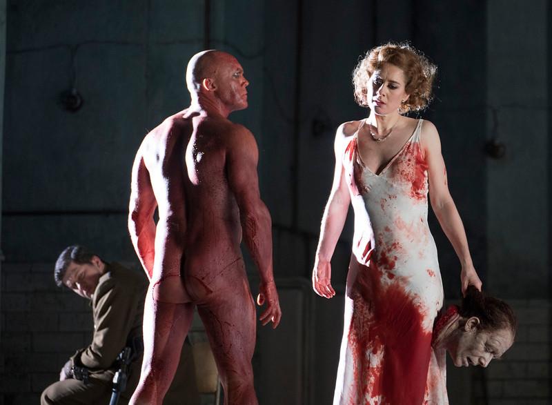 'Salome' Opera performed at the Royal Opera House, London, UK