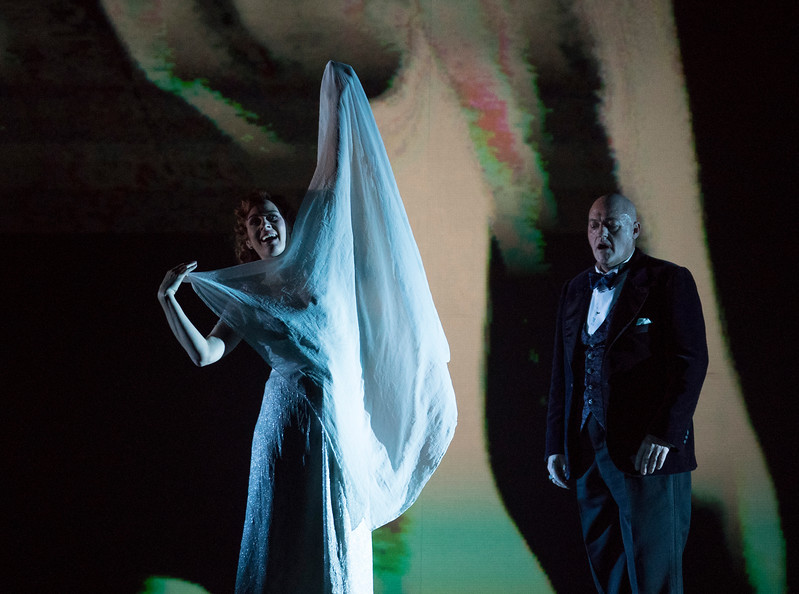 'Salome' Opera performed at the Royal Opera House, London, UK