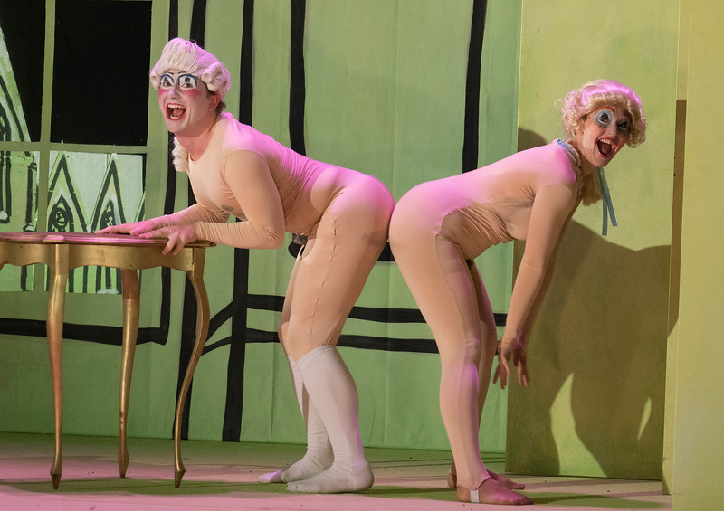 'The Intelligence Park' Opera performed in the Linbury Theatre, Royal Opera House, London, UK