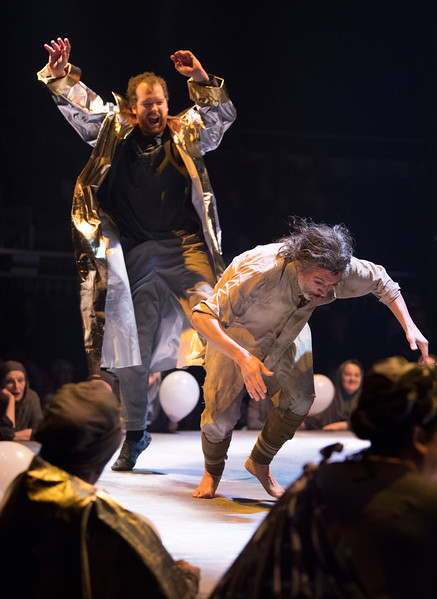 'The Return of Ulysses' Opera performed by the Royal Opera Company at the Roundhouse, London, UK