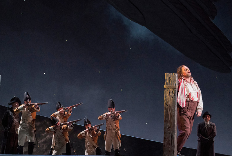 'Tosca' Opera performed at the Royal Opera House, London, UK