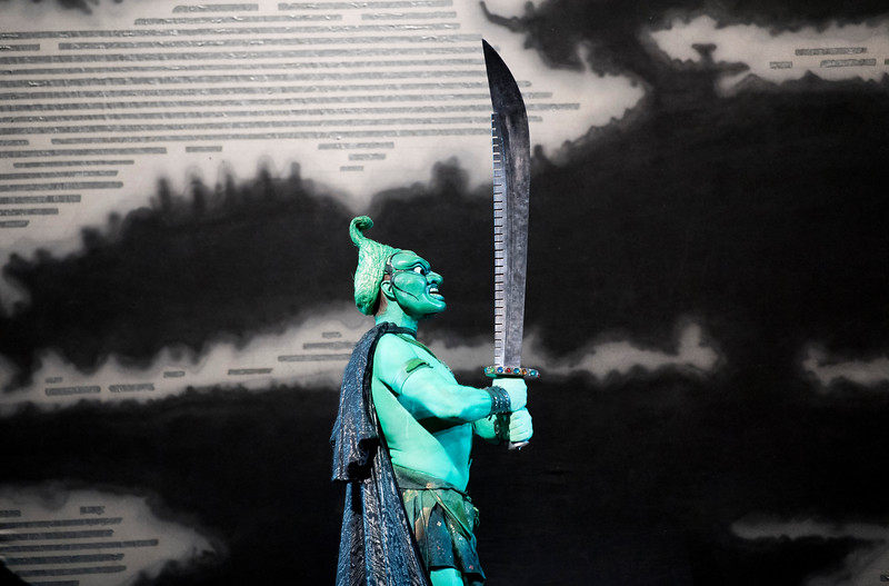 'Turandot' Opera performed at the Royal Opera House, London, UK