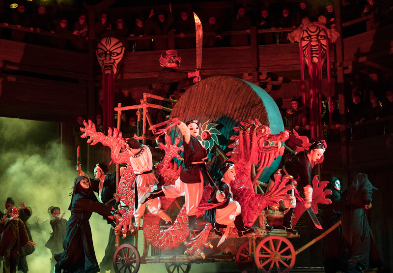 'Turandot' Opera performed at the Royal Opera House, London, UK