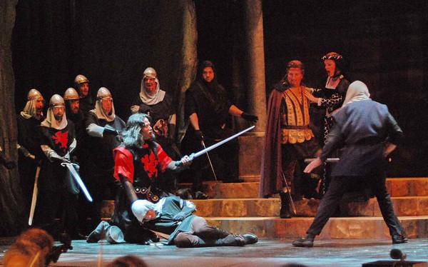 Il Trovatore Opera Naples 2010