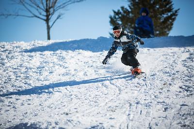 Jayden's 1st Snoboard Experience