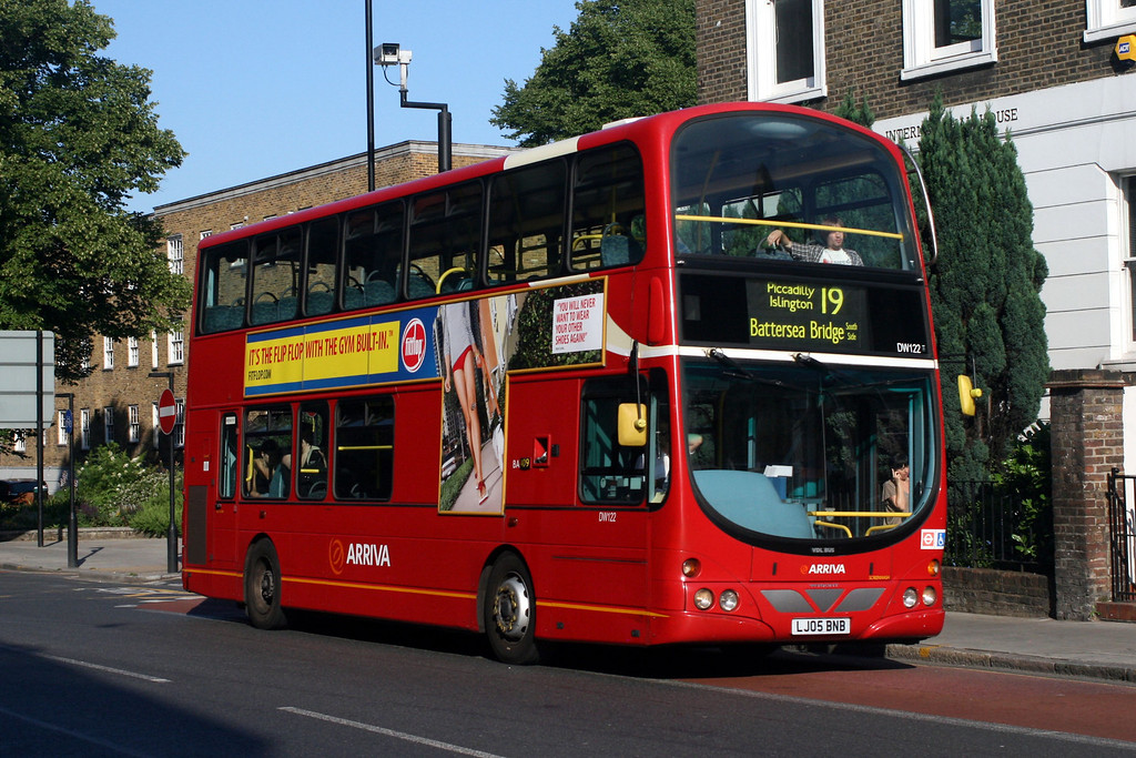 IAN'S BUS STOP: Dennis Dart SLF: Arriva London