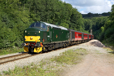 37411 looks superb in the sunshine at Cefn Onn whilst working 2F18 1015 Rhymney-Cardiff Central on 20/08/2005.