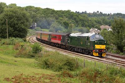 37411 works 2F30 1315 Rhymney-Cardiff Central at Ystrad Mynach on 20/08/2005.