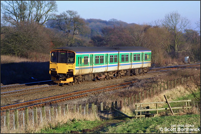 150125 climbs Hatton bank on 31/12/2001.
