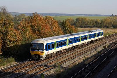 165102 forms 2P65 1506 Oxford-London Paddinton at South Moreton on 27/10/2005.