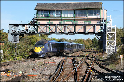 395013 forms 1J26 1112 London St Pancras HS1-Margate departing Canterbury West on 09/10/2018.