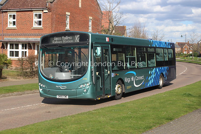 3739, GN06EWE, Arriva Kent and Surrey