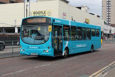 2902, CX58EWR, Arriva Merseyside