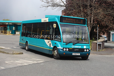 679, CX58FYY, Arriva North West