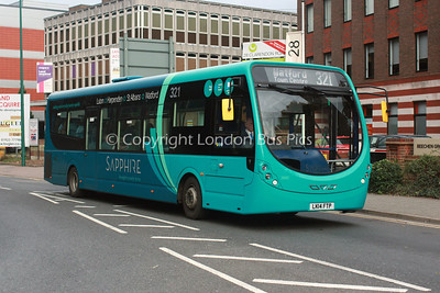 3660, LK14FTP, Arriva The Shires