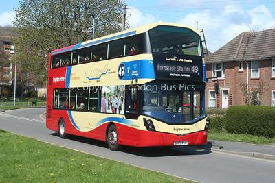 853, SK67FLW, Brighton and Hove