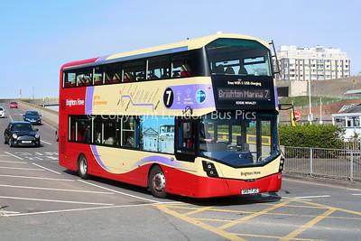 837, SK67FJZ, Brighton and Hove