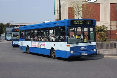 245, R745BMY, Metrobus
