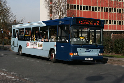 206, SN03WLH, Metrobus
