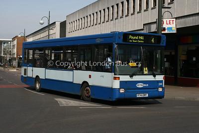 244, R744BMY, Metrobus