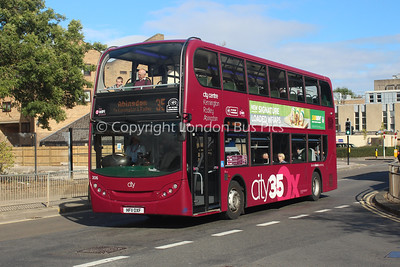 306, HF11OXF, Oxford Bus Company