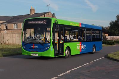 2765, YX17NHT, Thamesdown Transport