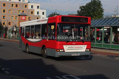 8018, BX54DMV, Abellio Surrey