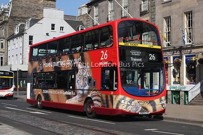 321, SN09CVB, Lothian Buses