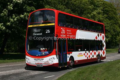 302, SN09CTO, Lothian Buses